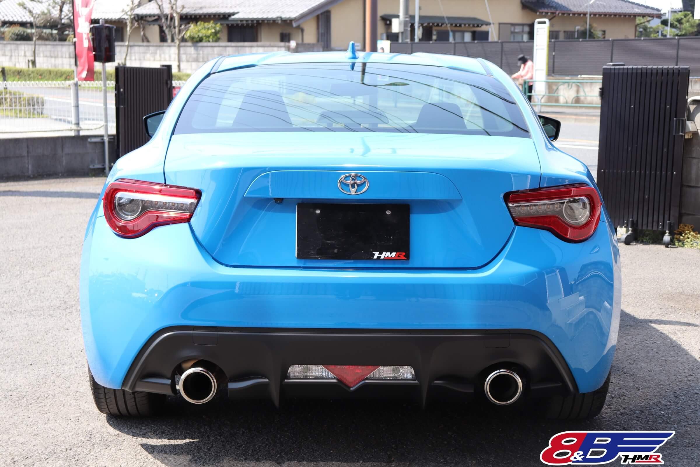 トヨタ86(ZN6)ブライトブルー