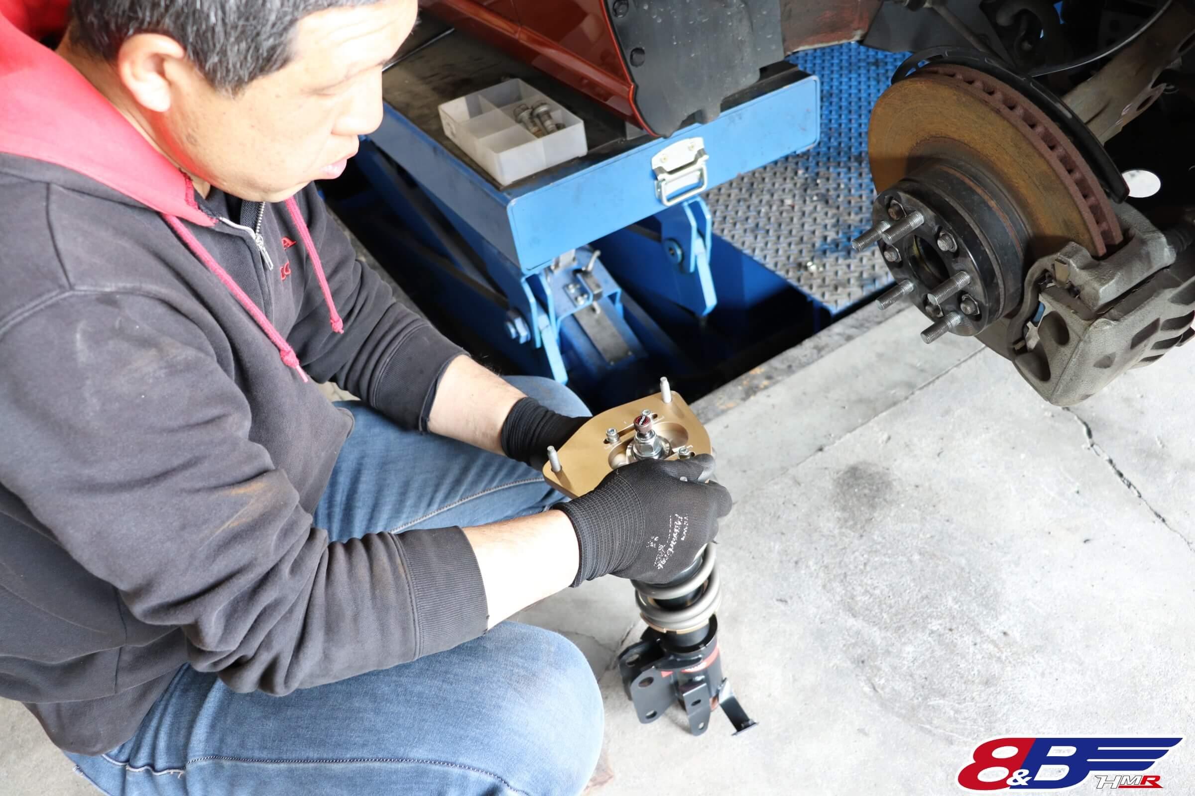 トヨタ86(ZN6)スピリット車高調交換