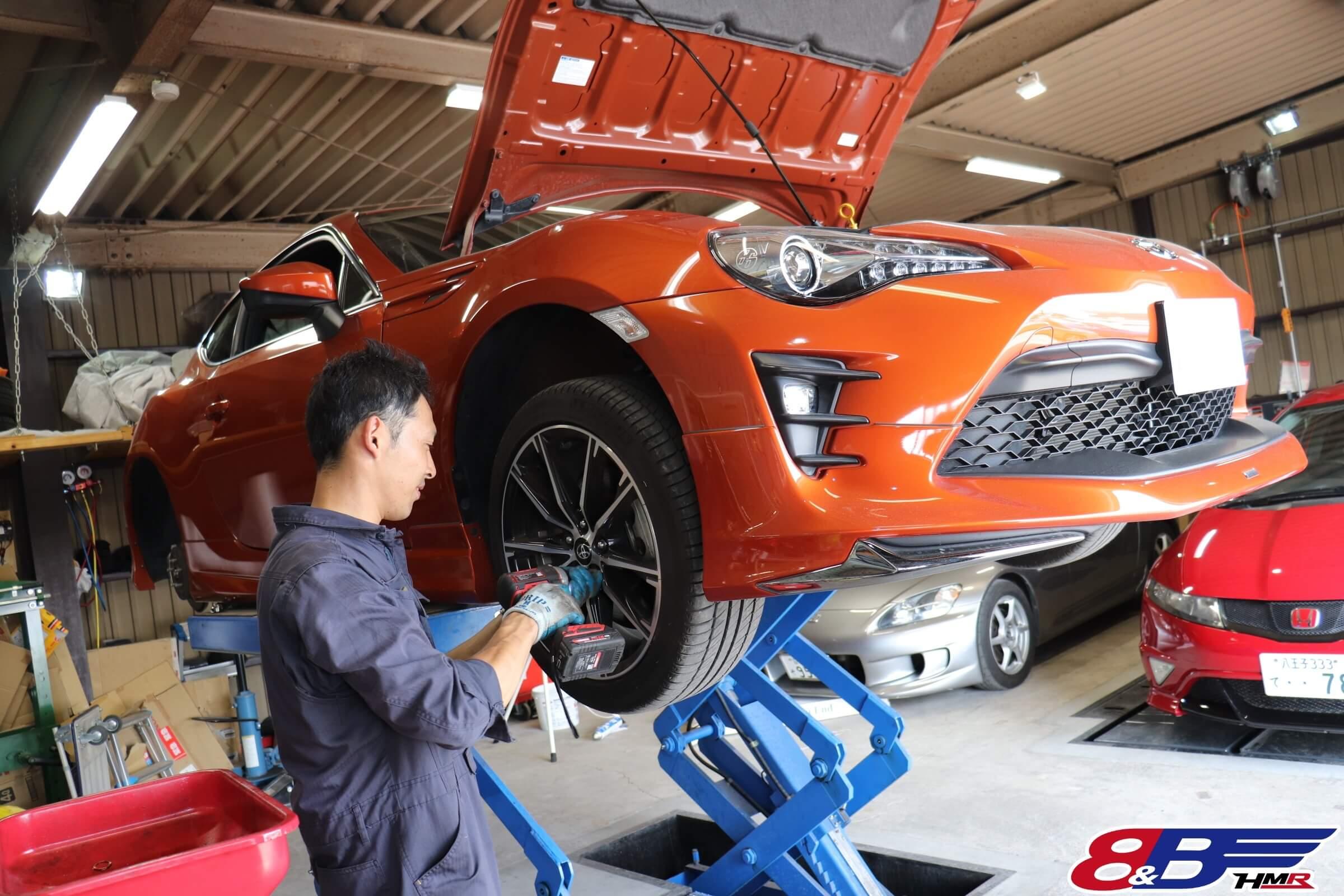 トヨタ86(ZN6)納車前点検