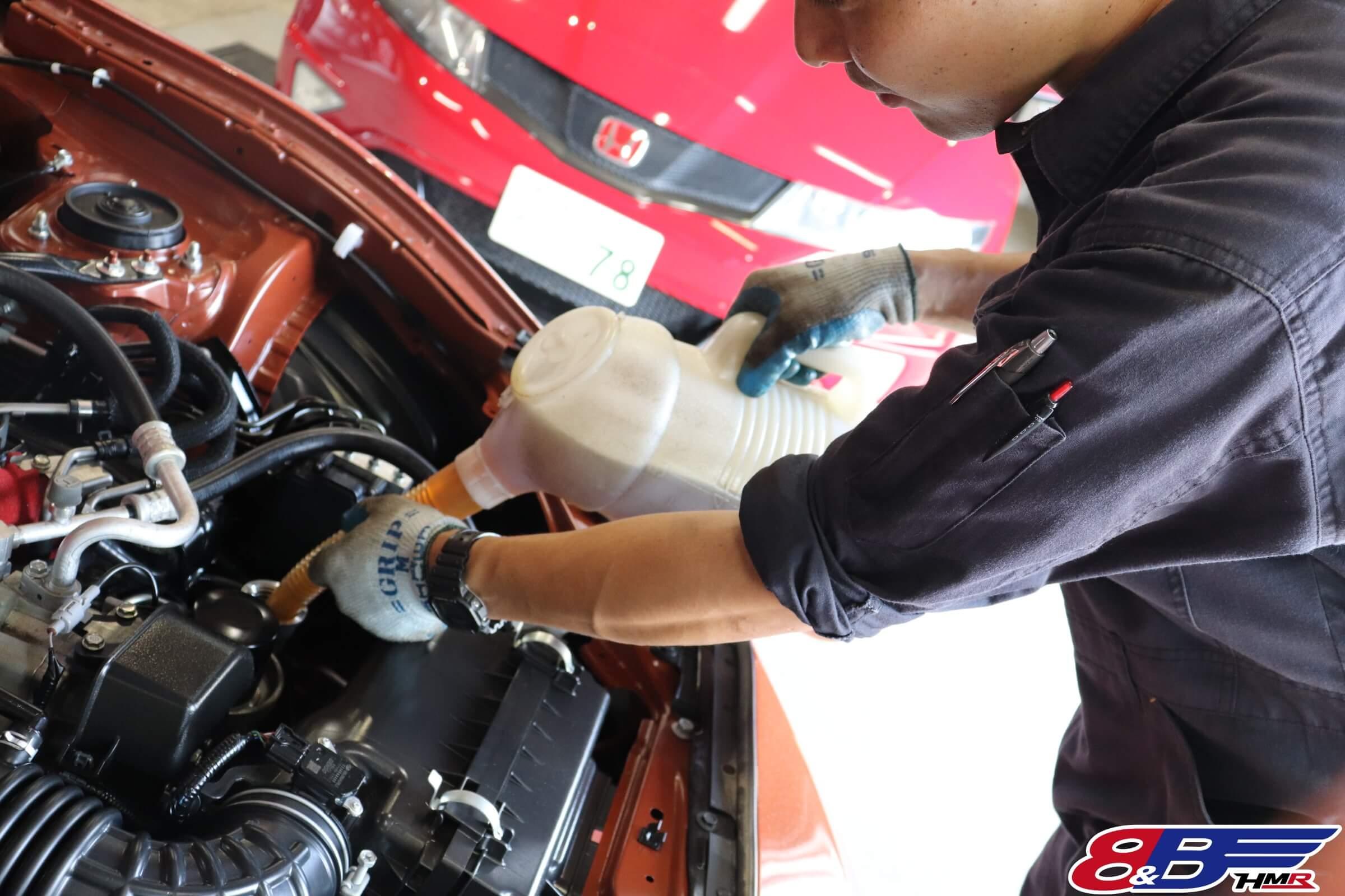 トヨタ86(ZN6)エンジンオイル交換