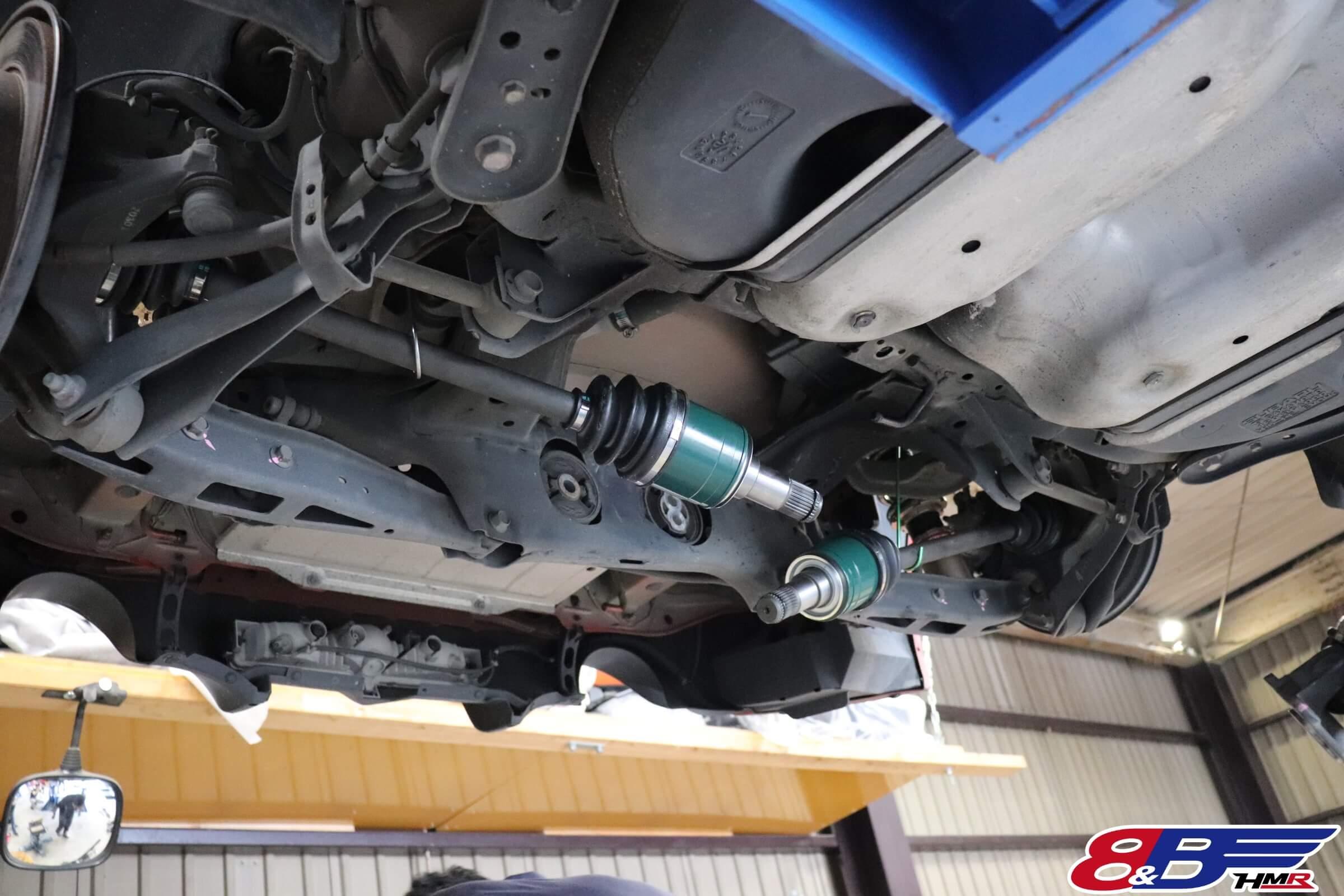 86(ZN6)クルマドーカスタム強化ドライブシャフト交換