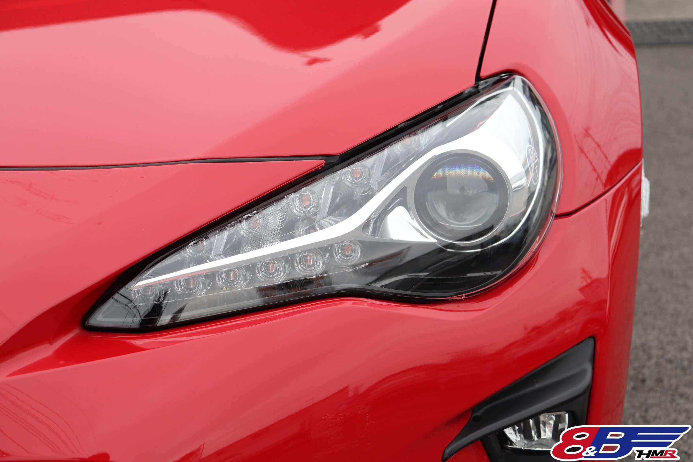 トヨタ86後期LEDヘッドライト