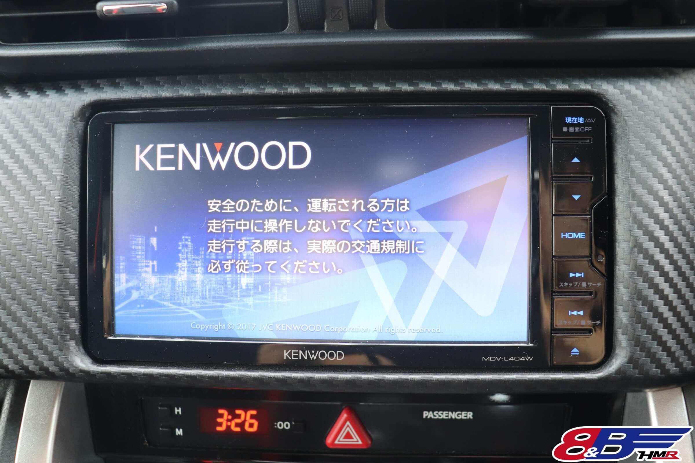 KENWOOD SDナビ(MDV-L404W)