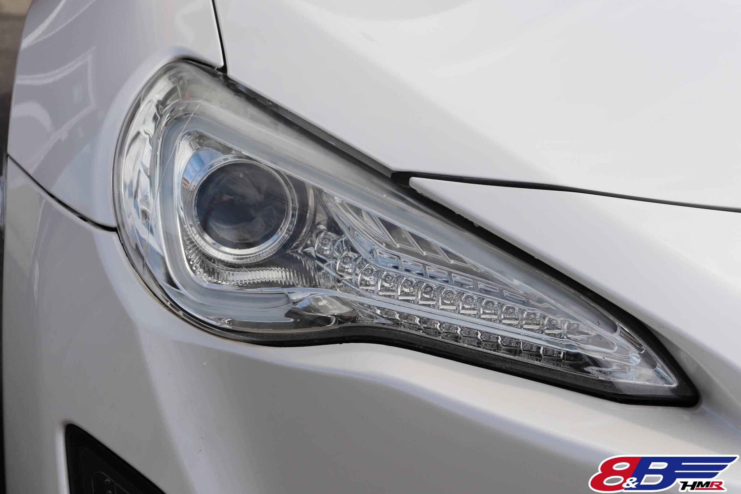 トヨタ86(ZN6)社外ヘッドライト