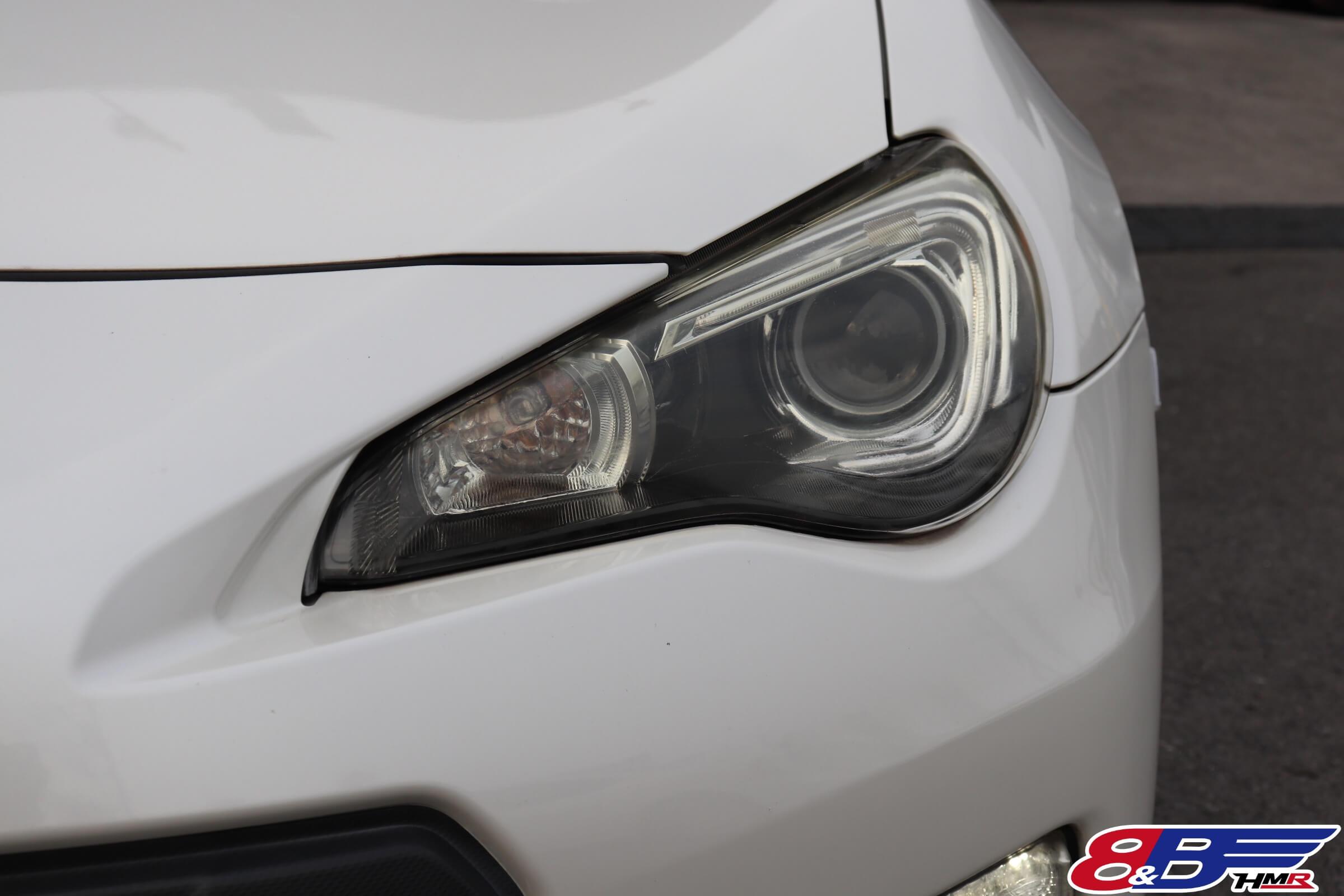 BRZ(ZC6)ヘッドライト