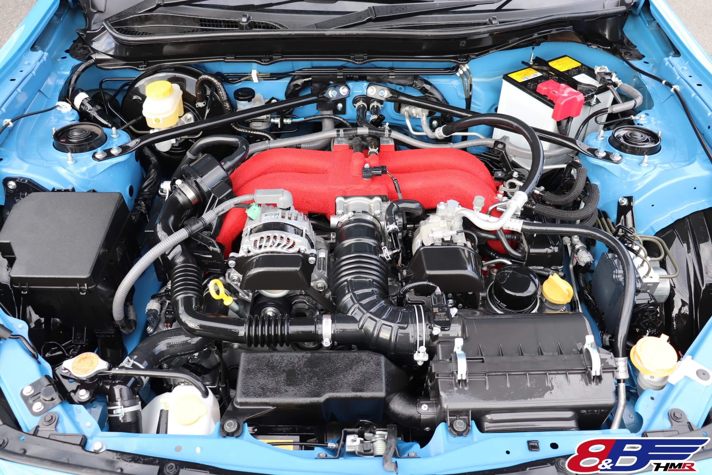 トヨタ86(ZN6)エンジンルーム