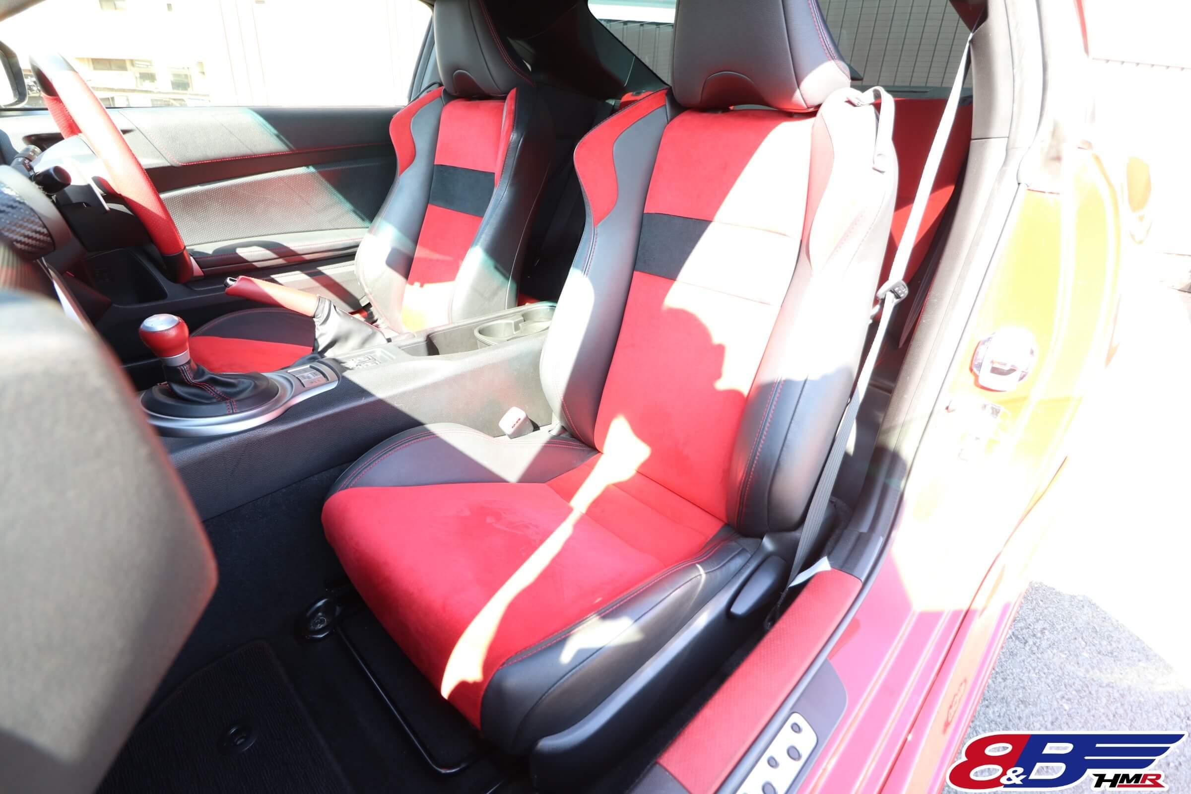 トヨタ86(ZN6)GTリミテッドシート