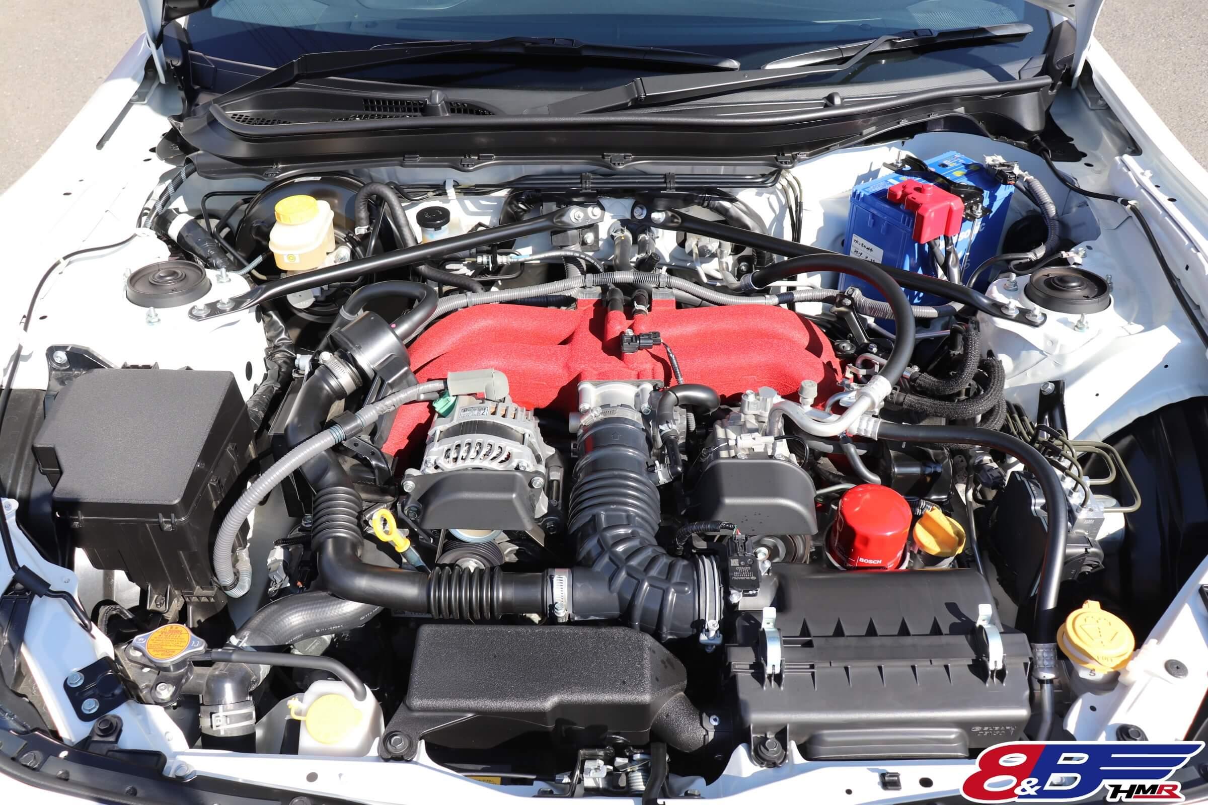 トヨタ86(ZN6)後期エンジン