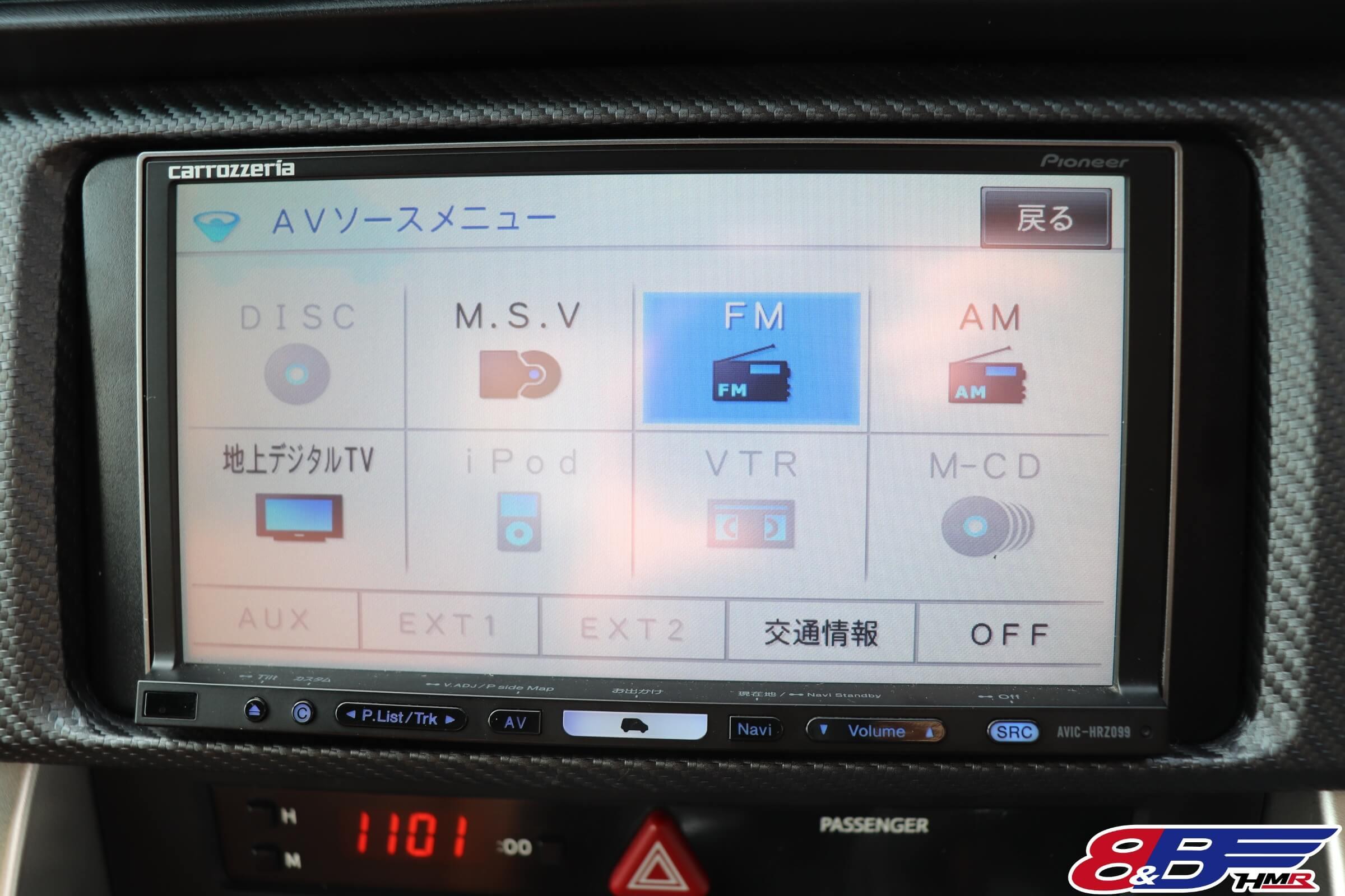 楽ナビ(AVIC-HRZ099)