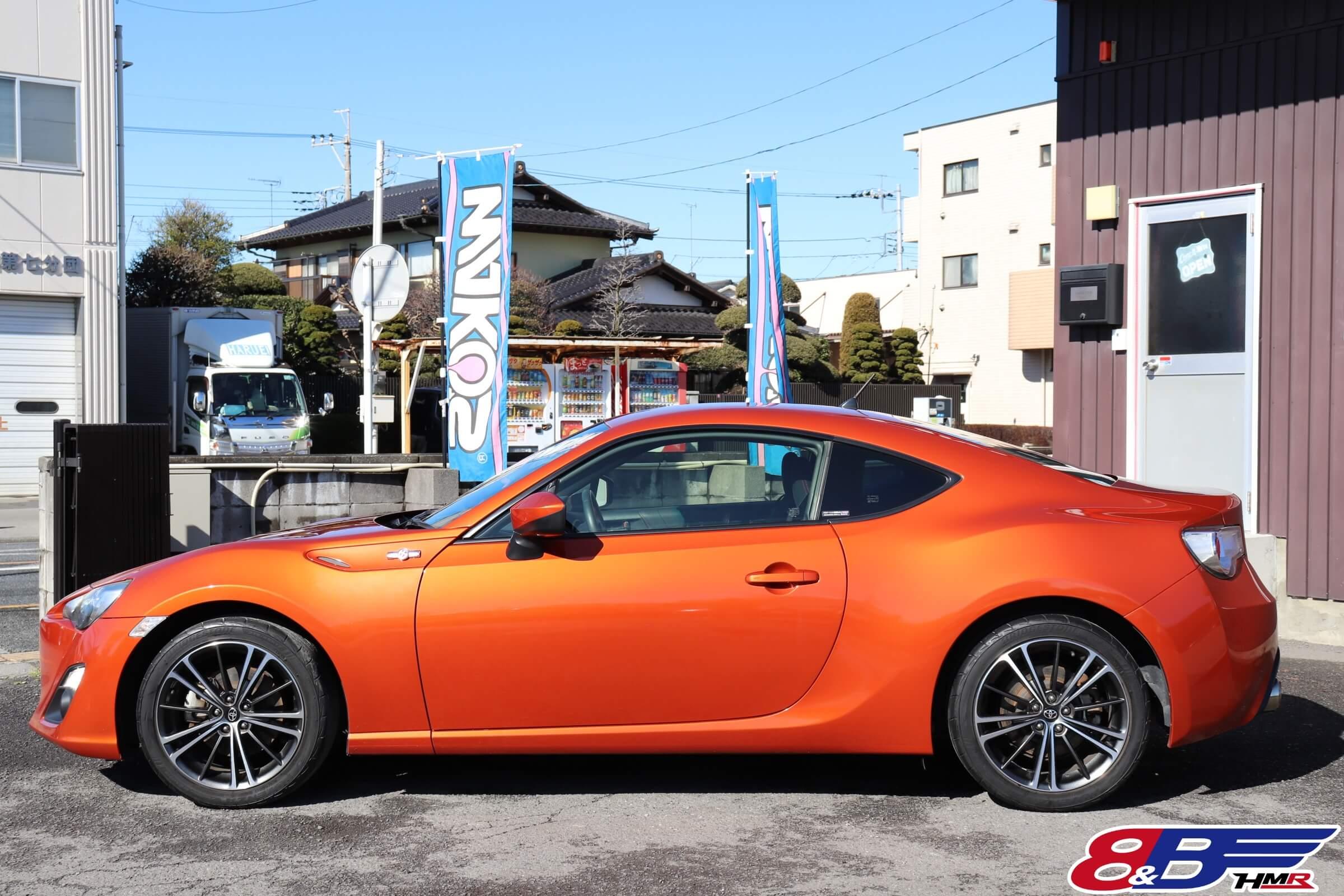 86(ZN6) オレンジメタリック