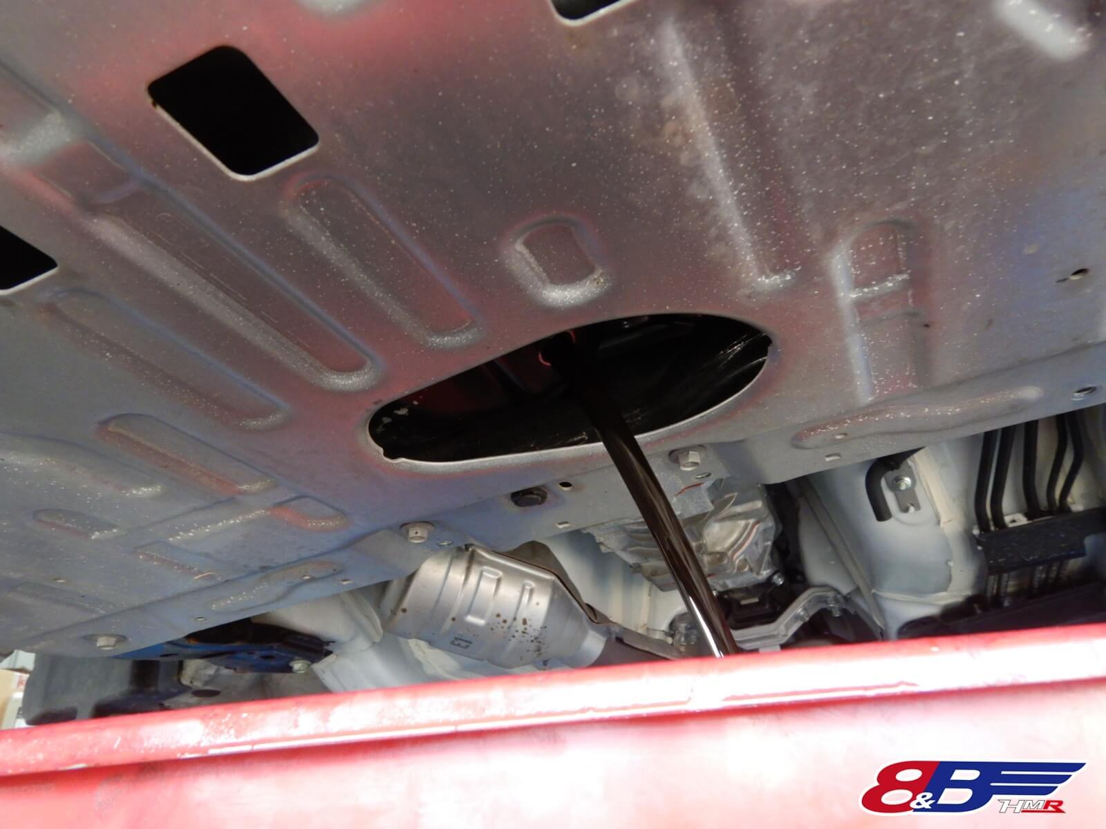 86 納車点検 ZN6 エアフィルター スパークプラグ ブレンボ
