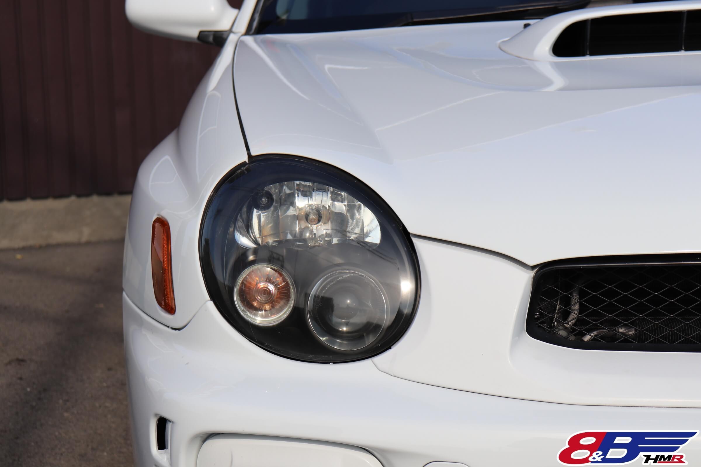 インプレッサWRXSTI(GDB)リミテッドヘッドライト