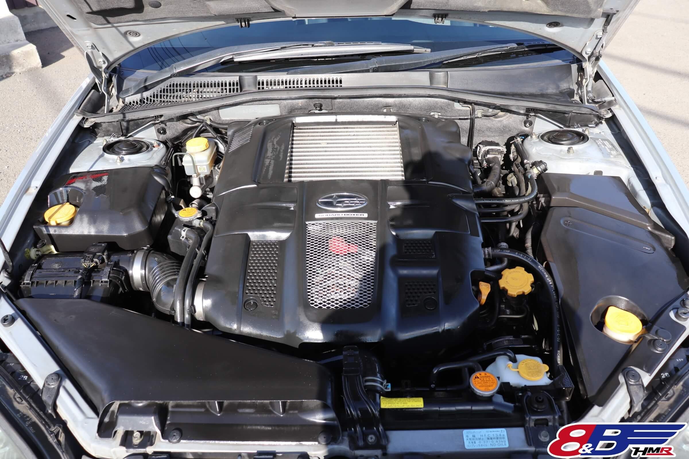 レガシィワゴン(BP5)エンジン