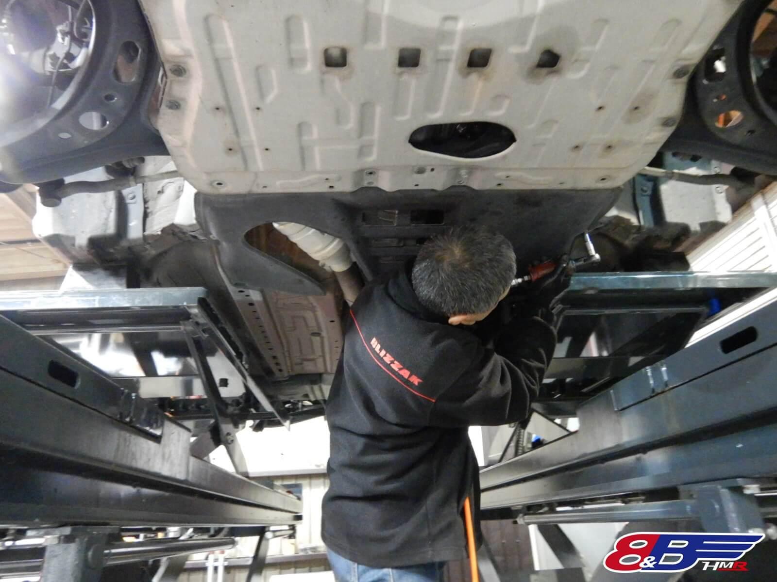 86 エアクリーナー スパークプラグ エンジンオイル デフオイル トランスミッションオイル 交換