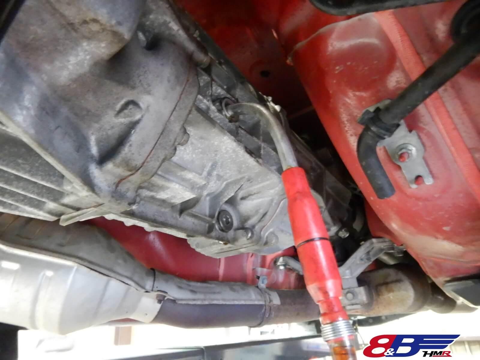 86 納車前整備 エアクリーナ エンジンオイル トランスミッションオイル デフオイル 交換