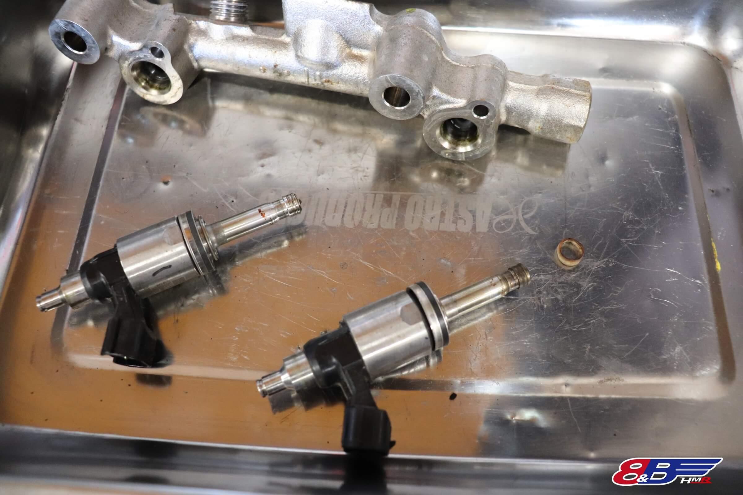 86 BRZ 強化インジェクターシール交換 オートファクトリー