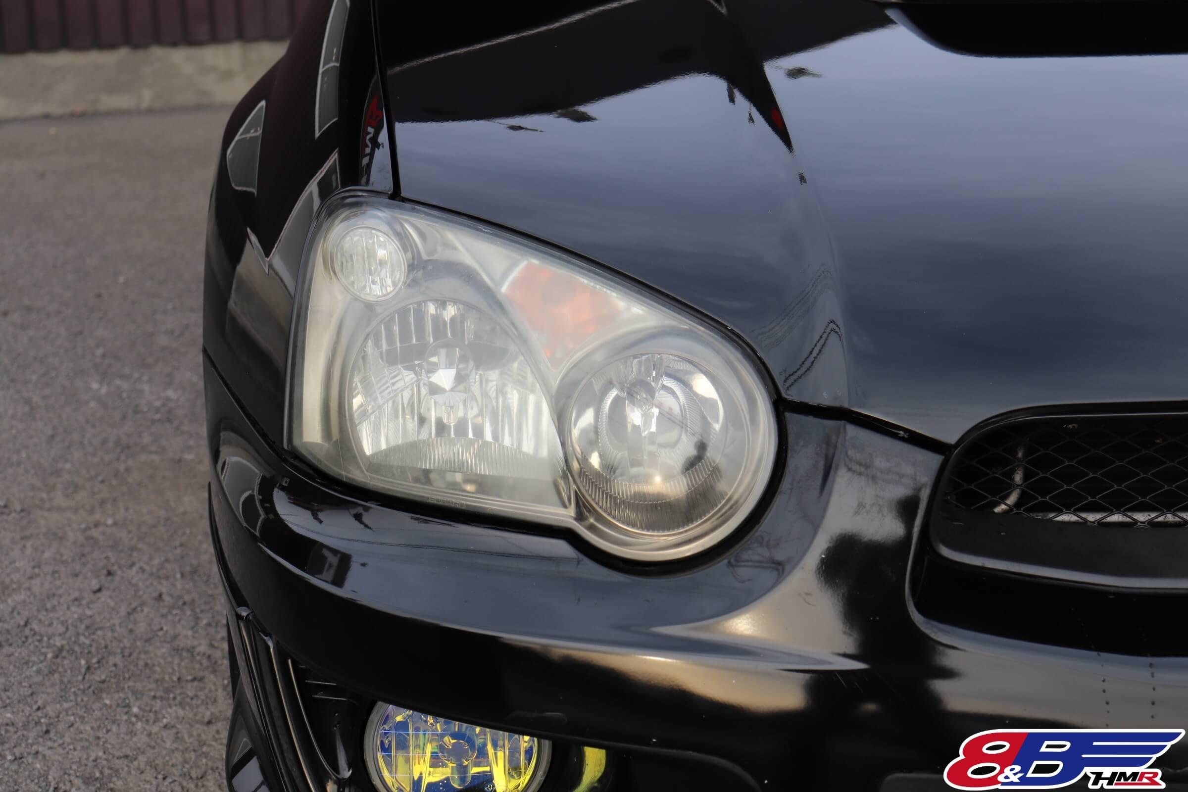 インプレッサWRXSTI(GDB)ヘッドライト