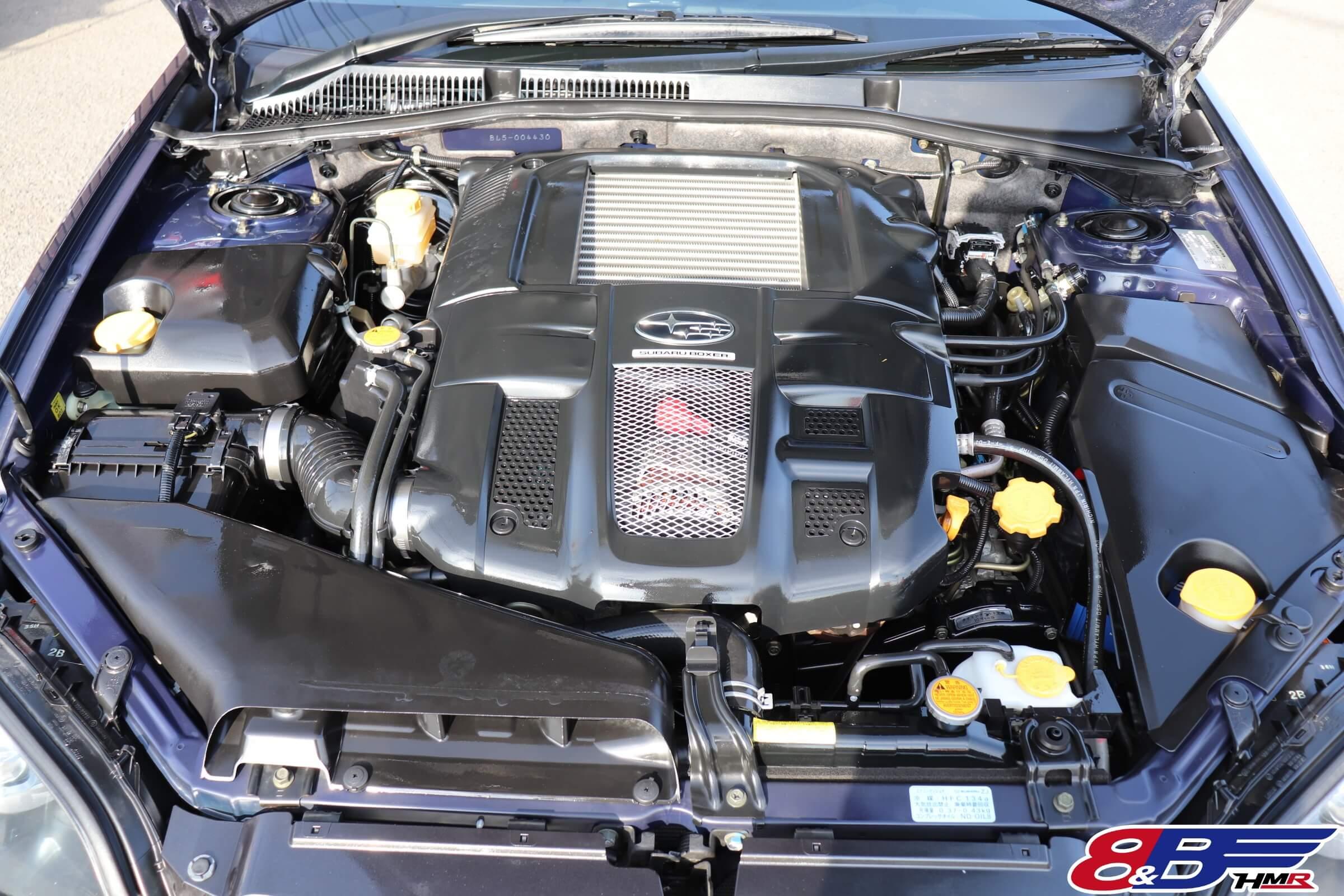 レガシィB4(BL5)エンジン
