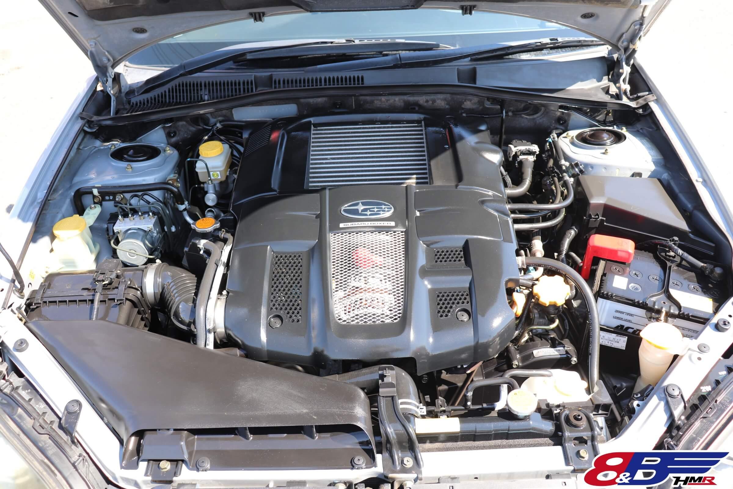 レガシィワゴン(BP5)2.0GT エンジン
