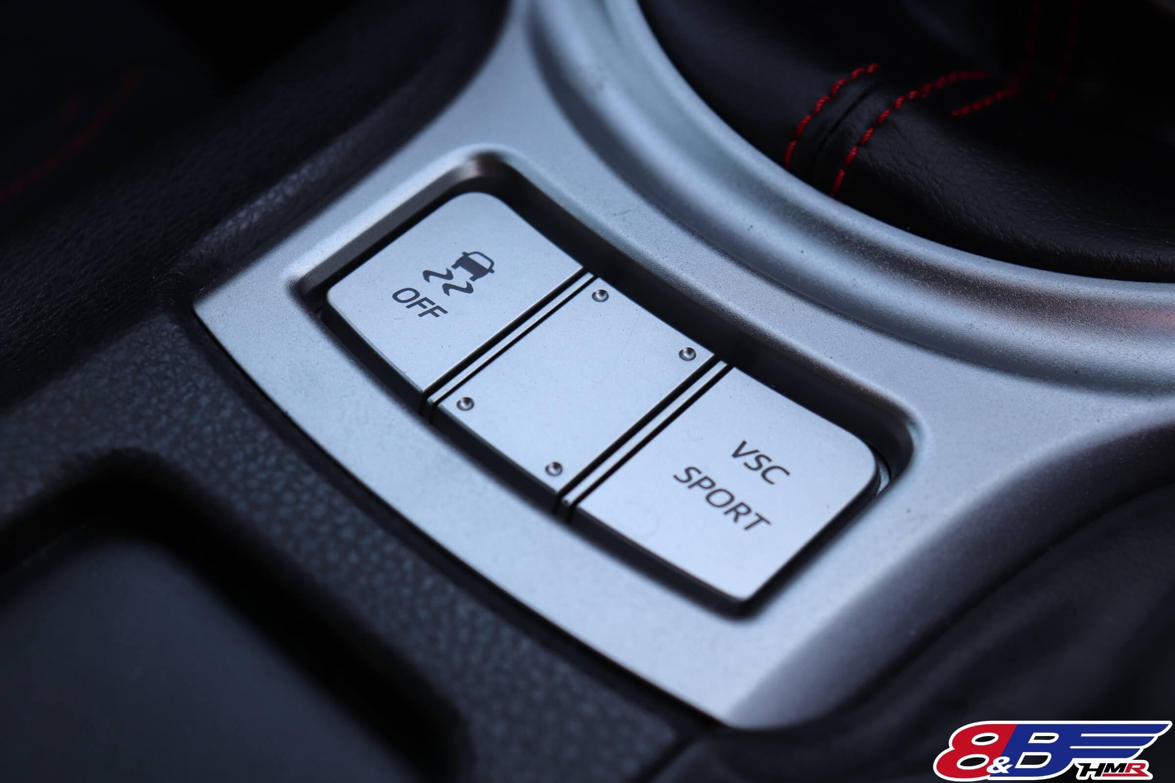 トヨタ86(ZN6)VSCスイッチ