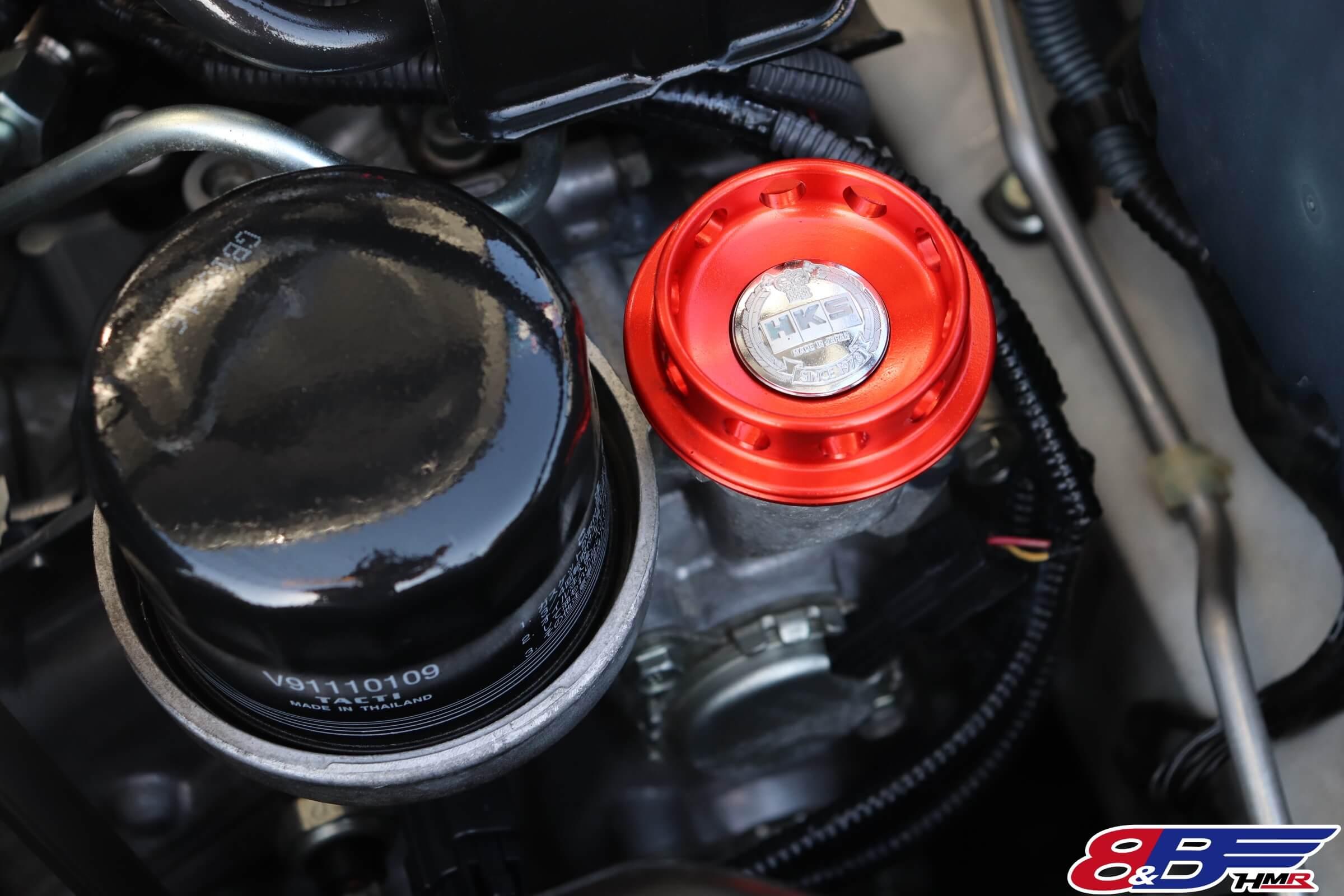 トヨタ86(ZN6)HKSオイルフィラーキャップ