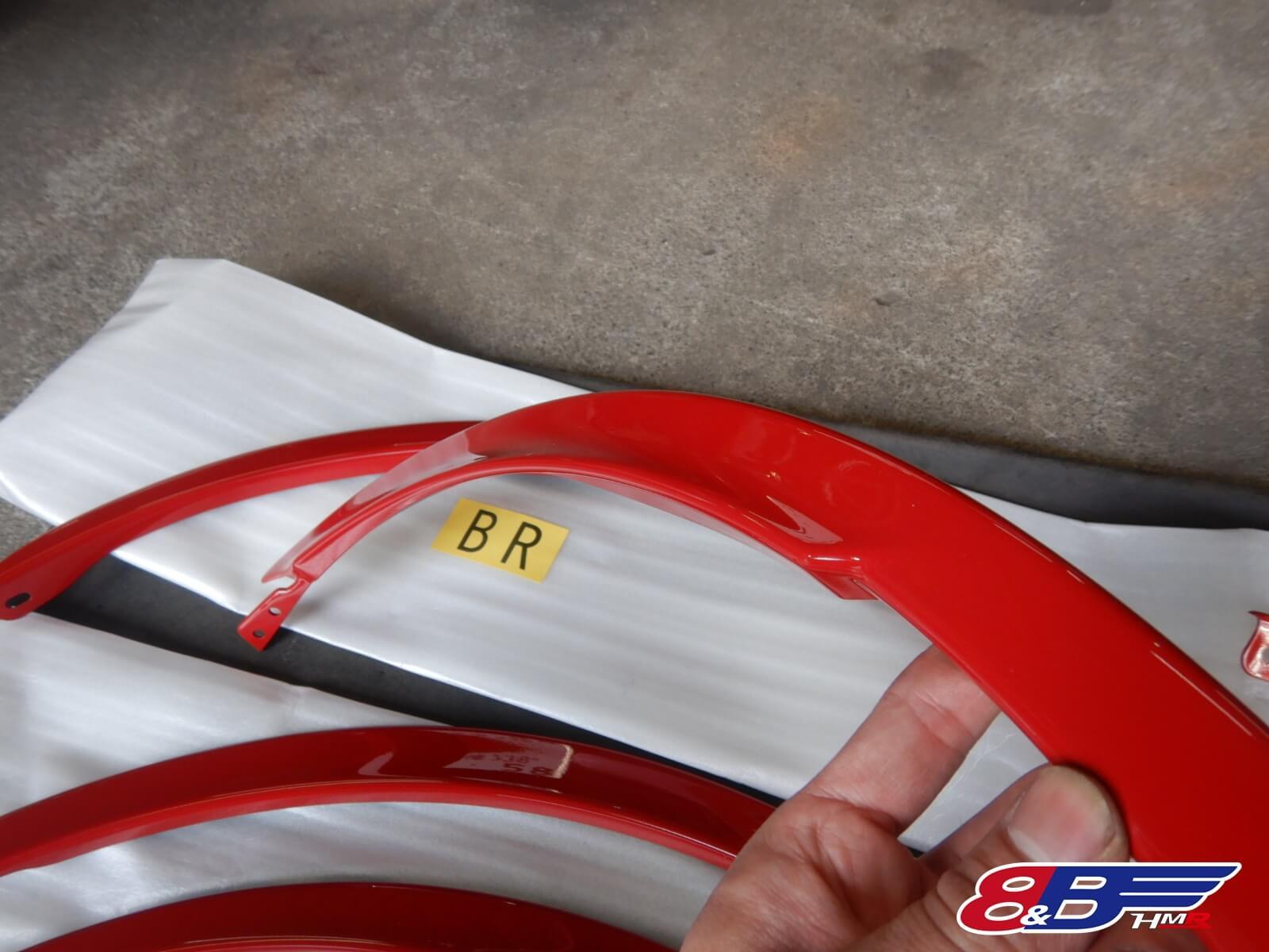 86・BRZ ローダウン TRDフェンダーエクステンション ツライチ