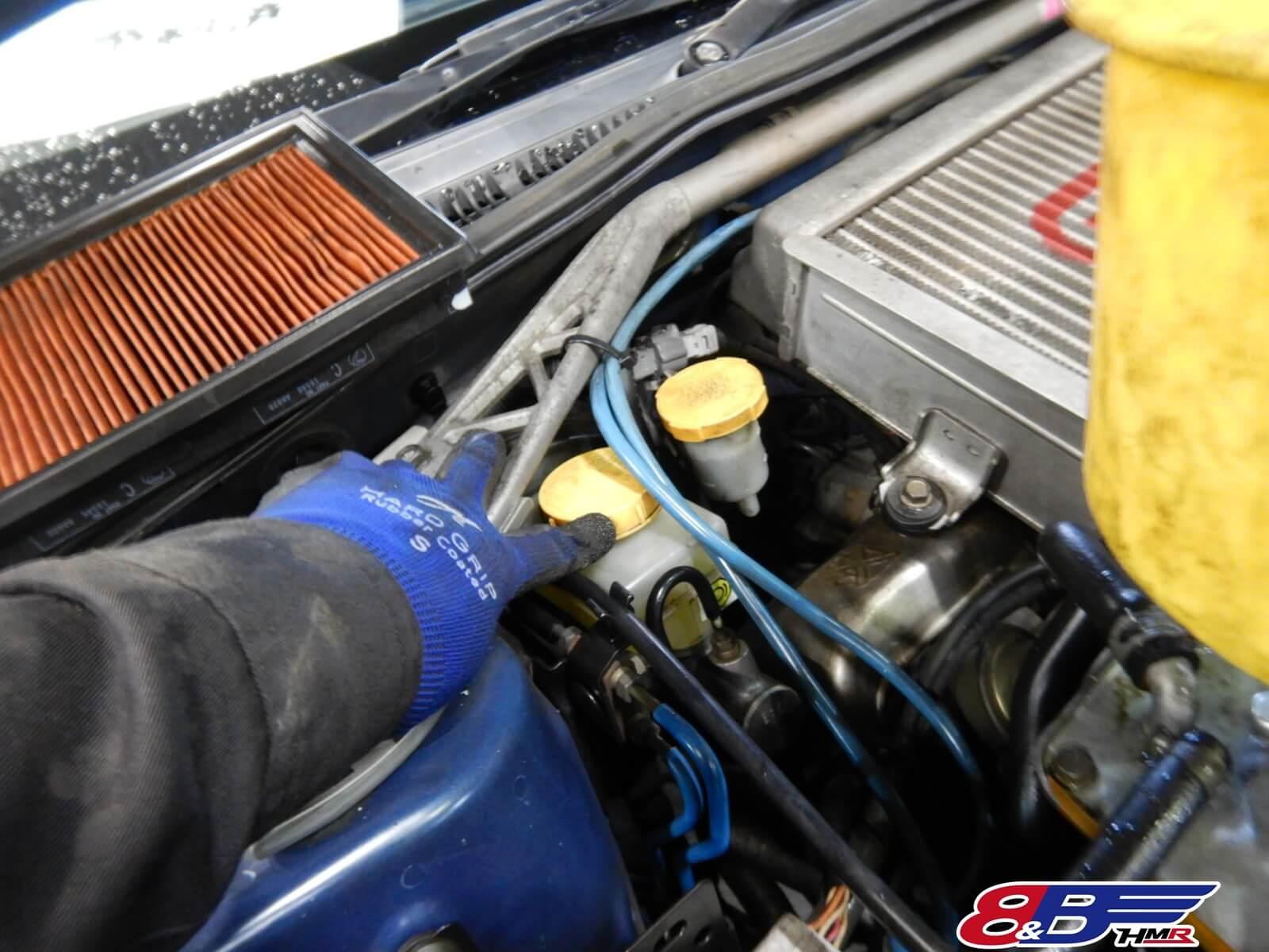 インプレッサWRX STI GDB ブレーキマスター点検