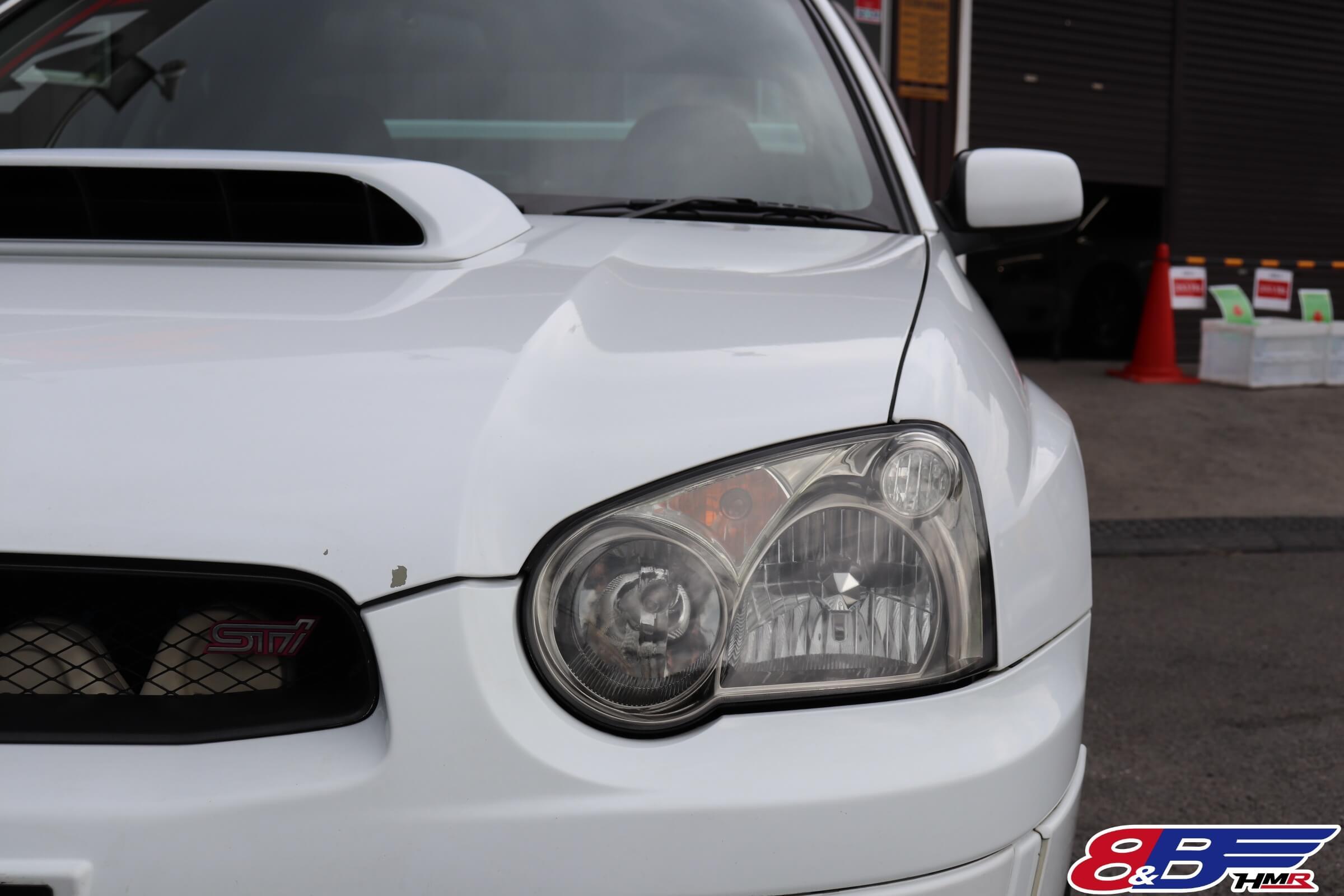 インプレッサWRX STI(GDB) ヘッドライト