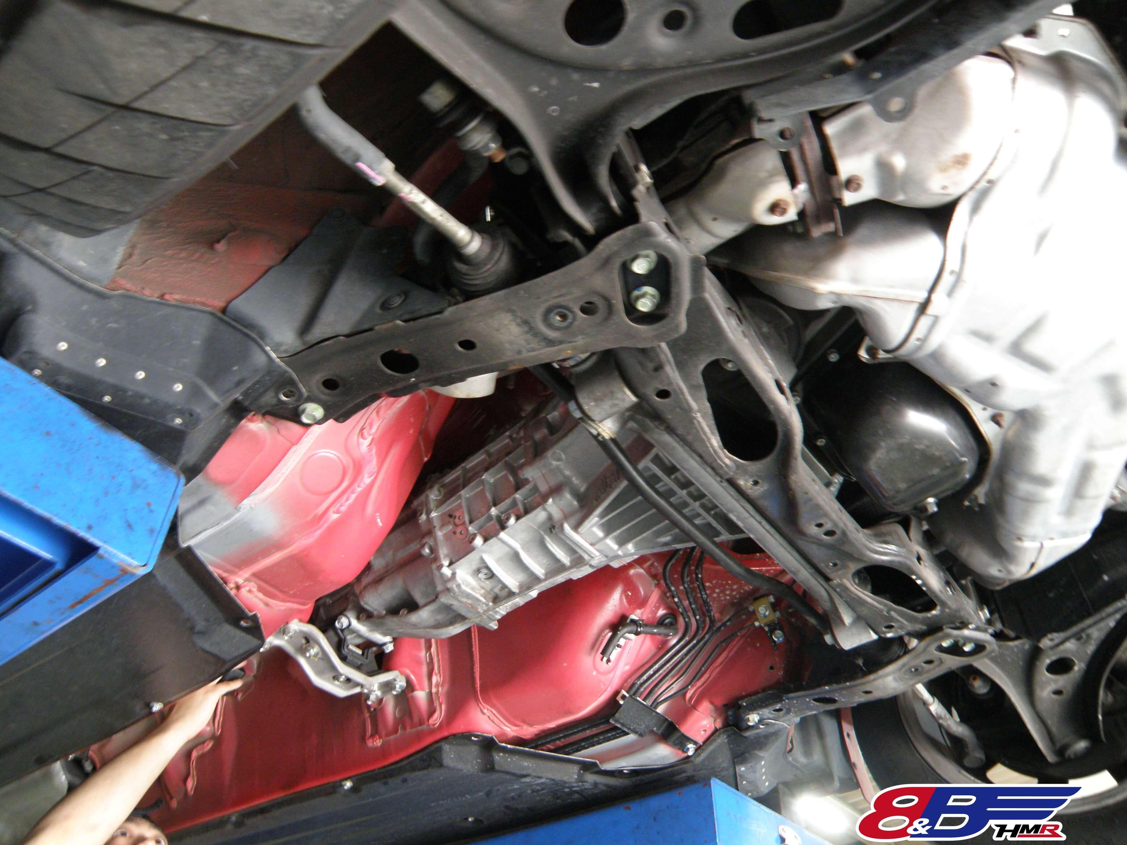トヨタ 86 ZN6 トランスミッション取り付け