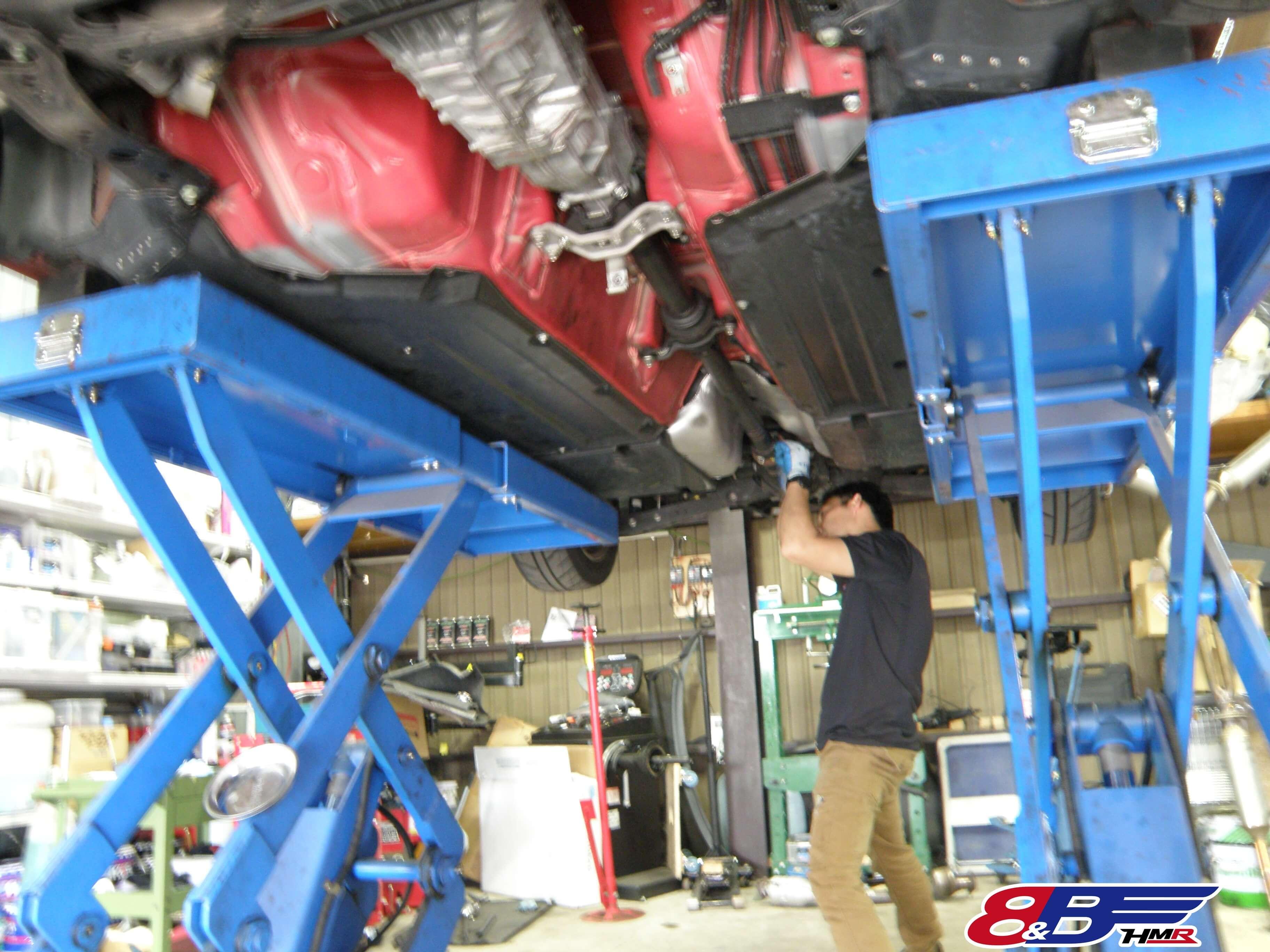 トヨタ 86 ZN6 プロペラシャフト取り付け