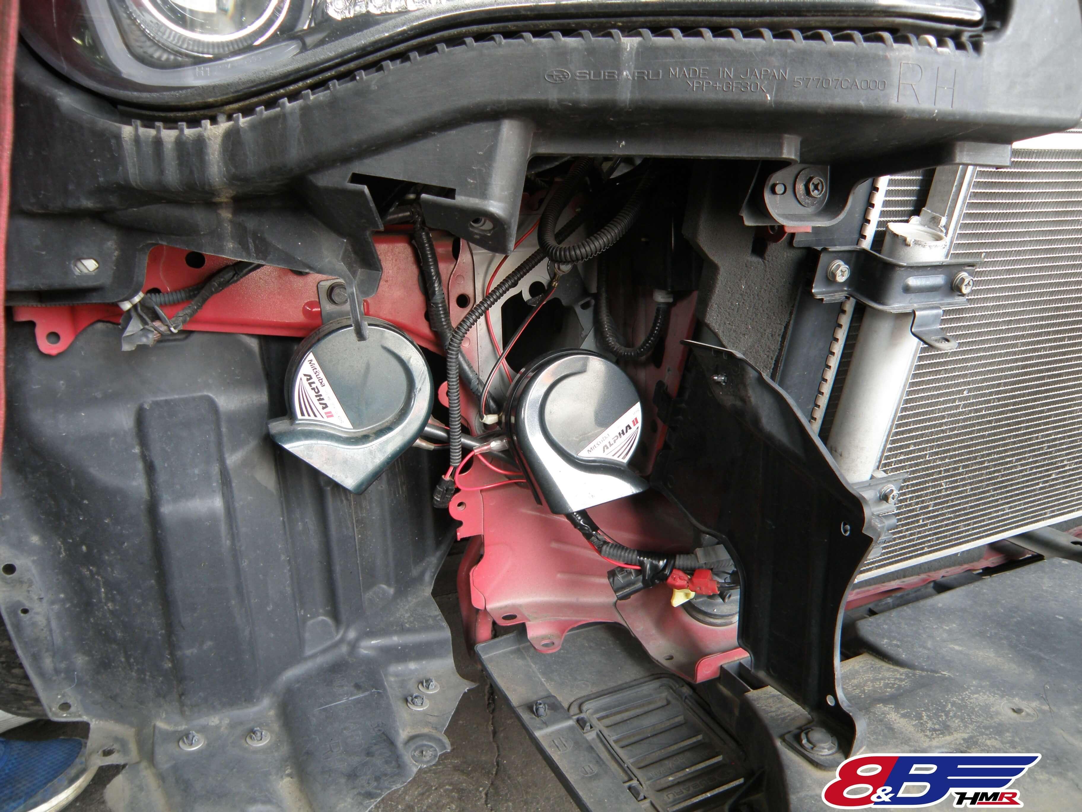 86 ZN6 ホーン修理