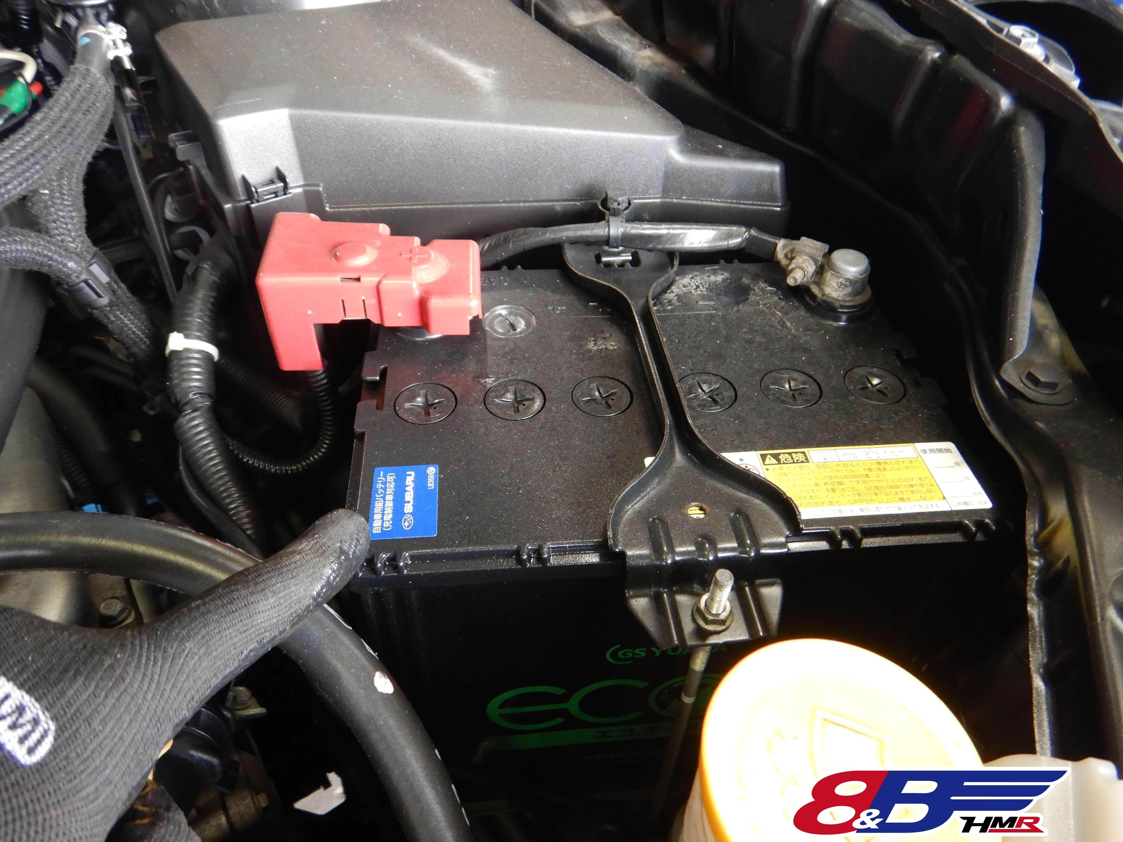 フォレスター SH5 バッテリー点検