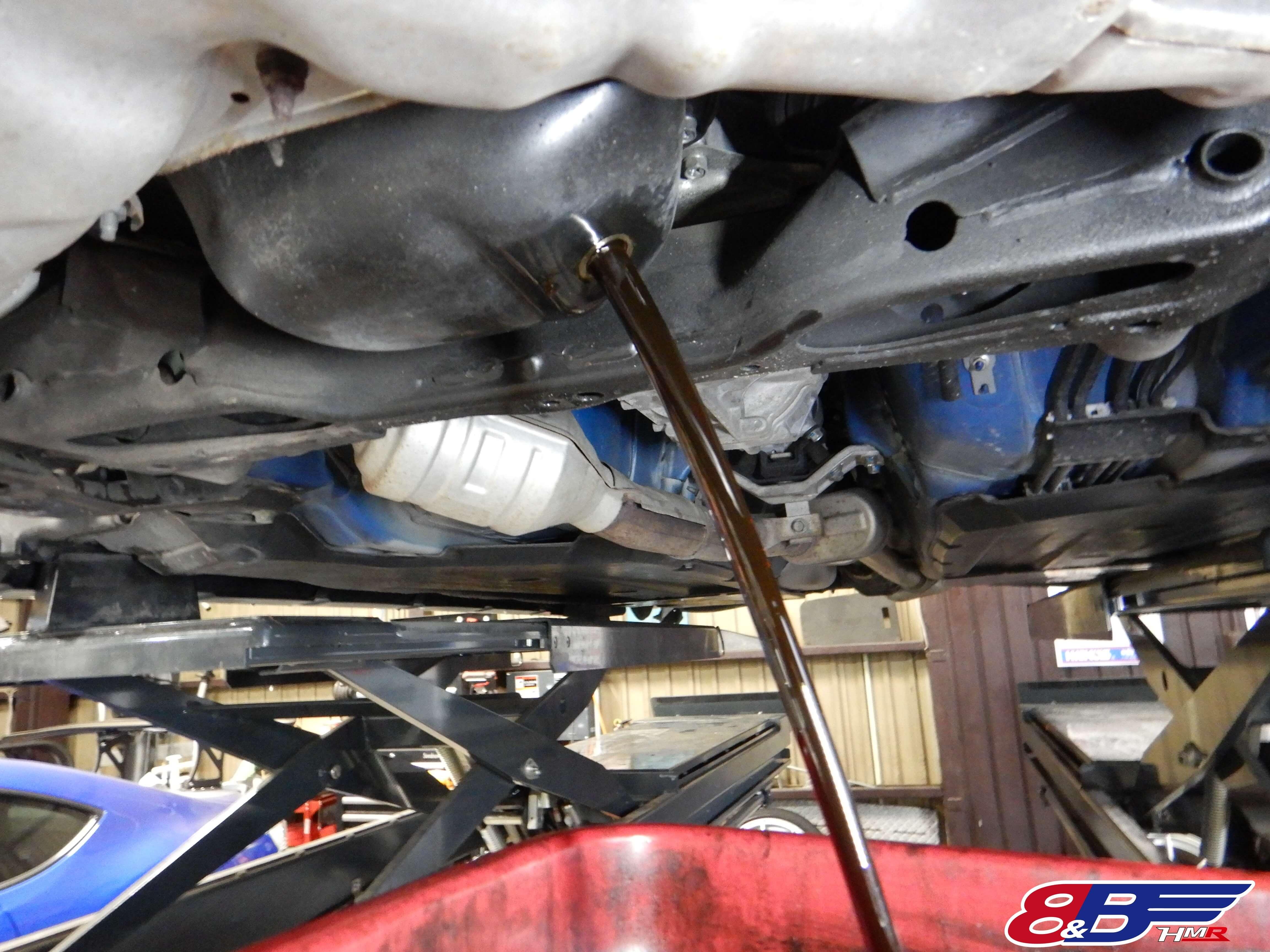 BRZ ZC6 エンジンオイル交換