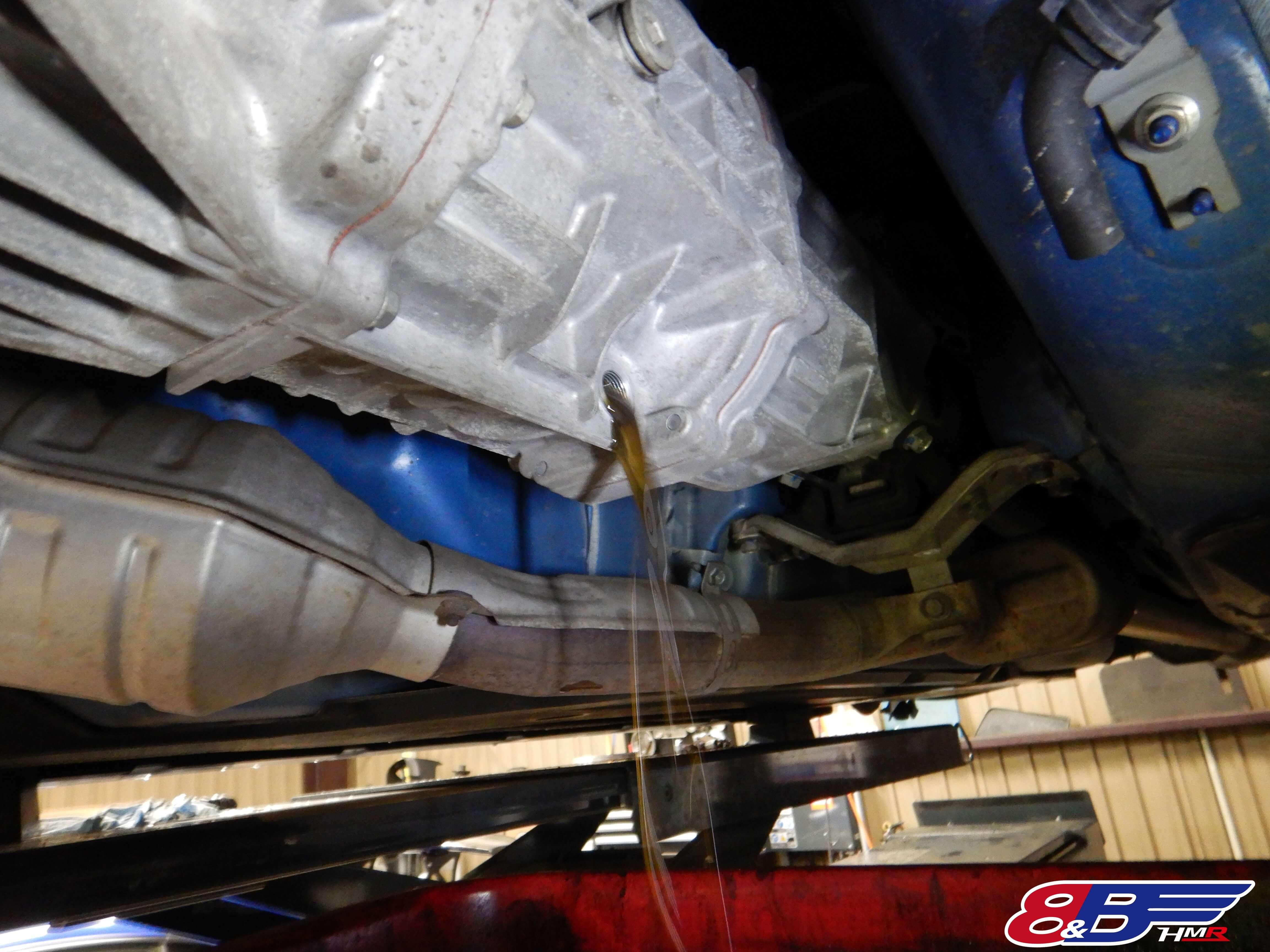 BRZ ZC6 トランスミッションオイル交換