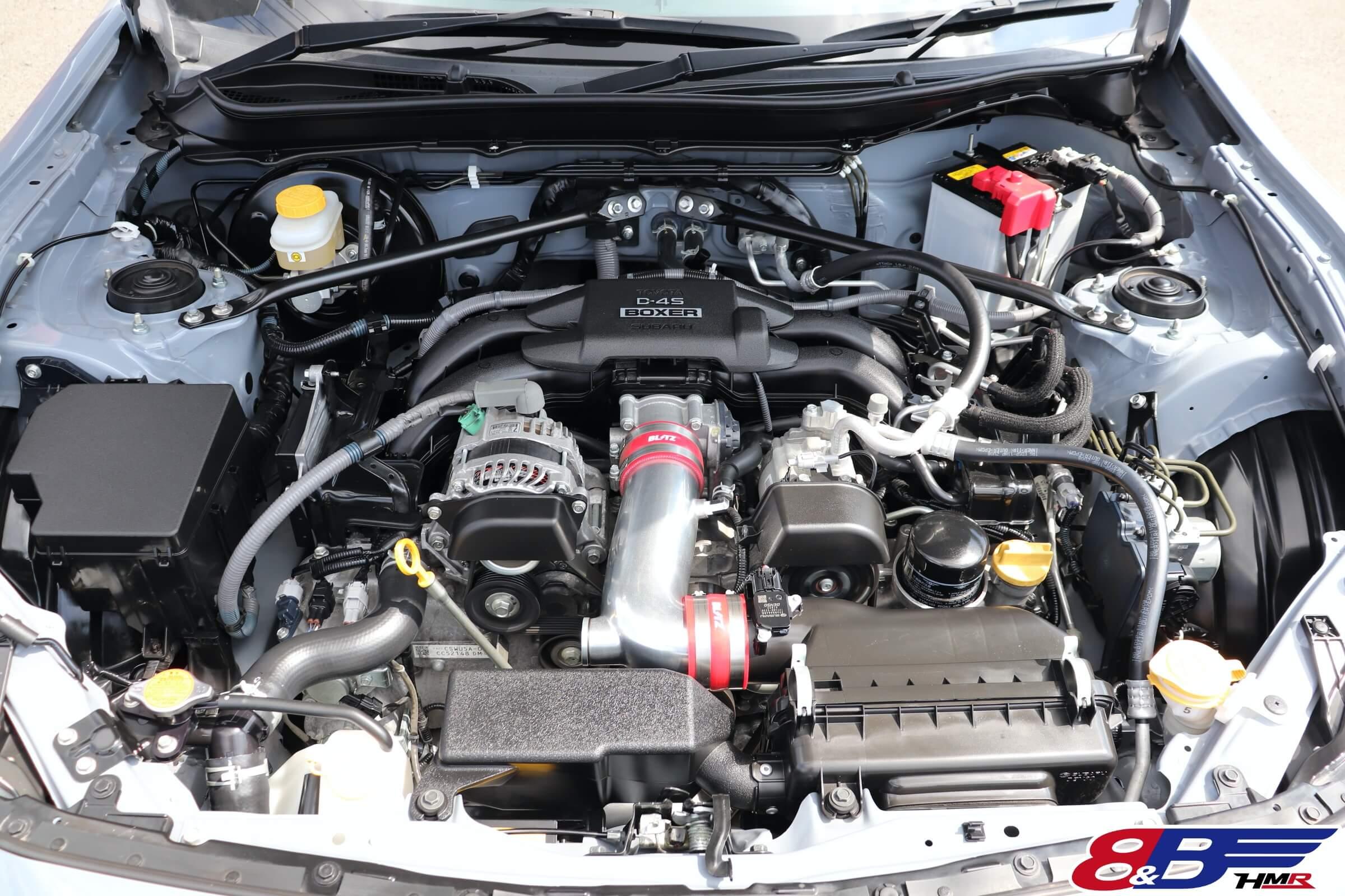 86GTリミテッドブラックパッケージ エンジン